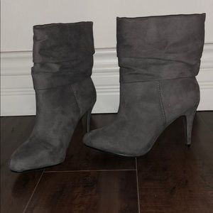 Express slouchy booties
